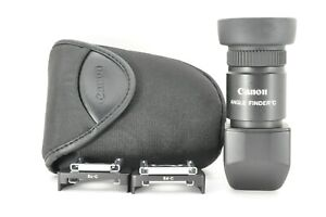 """"""" Exc +3 """" Canon Right Angle View finder C w/ Case for Film Camera From JAPAN #3"""