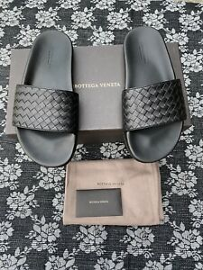 Bottega Veneta Speedster Slide Sandals Black Size 41 / US Men's 8 D