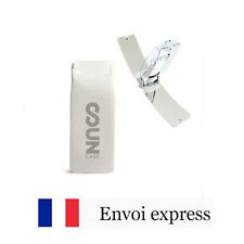 Briquet Solaire SUNCASE - Blanc - Ecologique - solar lighter white fire