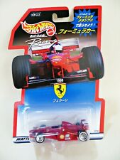 HOTWHEELS 'GRAND PRIX FERRARI 1999 F1 RACING CAR' 1:64 MIB/BOXED. RARE JAPAN BOX
