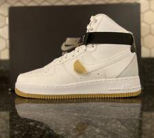 NBA x Nike Air Force 1 High 07 LV8 White CT2306-100 Size Mens US 10.5