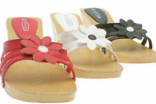 Women's Synthetic Block Mid Heel (1.5-3 in.) Mules Shoes