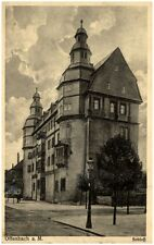 OFFENBACH Main Partie am Schloss 1915 Feldpost 1. Weltkrieg nach Schalksmühle
