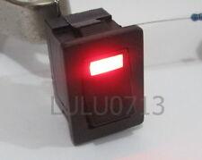 RED 3V LED LIGHT ILLUMINATED ONOFF ROCKER SWITCH 250 6A