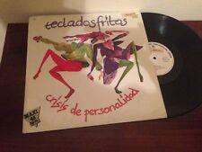 """TECLADOS FRITOS - CRISIS DE PERSONALIDAD 12"""" MAXI SYNTH POP"""