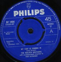"""WALKER BROTHERS my ship is coming in/you're all around me BF 1454 uk 7"""" WS EX/"""