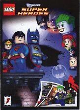 LEGO RARE GIVEAWAY PROMO DC UNIVERSE SUPERHEROES 3 SUPERMAN BATMAN COMIC