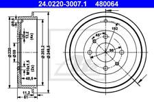 2x Bremstrommel für Bremsanlage Hinterachse ATE 24.0220-3007.1