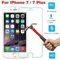 100% Genuine Tempered Glass Film Screen Protector Cover  for Apple iPhone 7 Plus