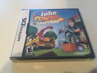 Jake Power: Handyman (Nintendo DS, 2009) DS NEW