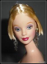 Nude Barbie Mattel Dance Till Dawn Blue Eye Short Blonde Doll For Ooak