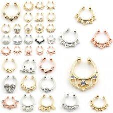 Cubic Zirconia Unbranded Body Piercing Jewellery