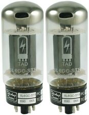 NEW Tube Amp Doctor TAD 6L6GC-STR 6L6 Matched Pair Tube