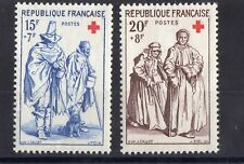 "FRANCE: SERIE DE 2 TIMBRES "" CROIX ROUGE "" NEUF** YTN°1140/1141 Cote:  9,50€"