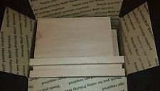 "Beech Wood Scrap, Lumber Wood, Hobbies - Planed/Sanded Tread Ends 3/4"" Thickness"