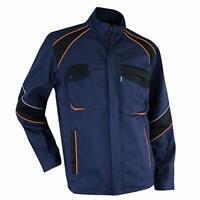 LMA Jacket Stand Up Collar Blue Black Orange Quality Coat Brand New Size 5