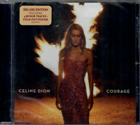 Celine Dion - Courage [Deluxe CD] +4 tracks New & Sealed
