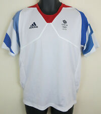 Adidas Olympics London 2012 Team GB Football Shirt Mens Jersey Adult Small 36/38