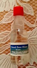 dead sea water 100g rich minerals 100% natural 100% pure from the lowest earth