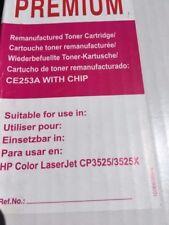 Premium HP toner cartridge Black LaserJet CP3525/3525X