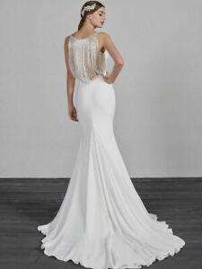 Genuine Pronovias EMILSE Wedding dress size 8 NEW!!