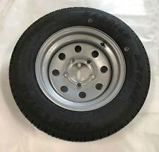 ST145/R12 Triton 08875 Class E Trailer Tire with Steel Rim - Single
