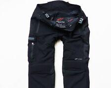 MEN'S BLACK ALPINESTAR DRYSTAR MOTORCYCLE TROUSERS PANTS SIZE: XL (X-LARGE)