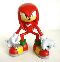 Sonic the Hedgehog Knuckles Highly Articulated Super Poser Figure Jazwares Sonic