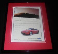 1997 Chevolet Cavalier Framed 11x14 ORIGINAL Advertisement
