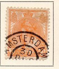 Paesi Bassi 1898-99 primi WILHELMINA problema belle usate 3C. 149307