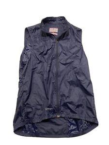 Giro Sport Design Cycling Wind Vest Size Small Blue Gilet