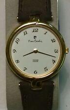 Original - Pierre Cardin Quarz Damen Armbanduhr mit Lederband Analog