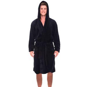 Thick, soft, warm and comfortable men's pajamas-bathrobes-coral velvet pajamas
