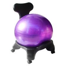 Balance Ball Chair - Classic Yoga Ball Chair with 55cm Stability Ball