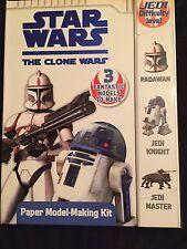 Star Wars The Clone Wars Paper Model-Making Kit