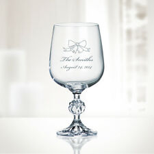 Personalized Crystalite Klaudie Goblet, 12oz
