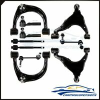 Fit for 03-09 LEXUS GX470 Suspension 10 Front Control Arm Sway Bars Tie Rods Kit