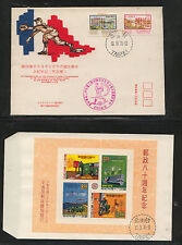 China  2 cachet covers  baseball and  mail       KL0107