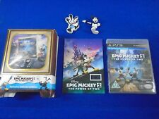ps3 EPIC MICKEY 2 The Power Of Two Exclusive Collectors Edition 5671/8000 PAL UK