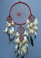 LARGE DREAMCATCHER BROWN DREAM CATCHER TRADITIONAL STYLE 20 X 50