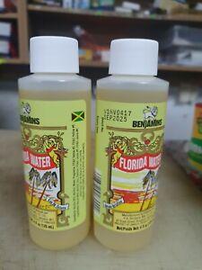 Benjamin Florida Water 1 x 120ml. product of jamaica