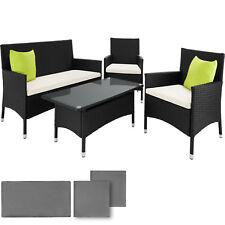 Poly ratán Alu conjunto de asientos muebles de ratán conjunto jardin conjunto de jardín de mesas conjunto para
