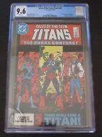 Tales the Teen Titans 44 CGC 9.6 1st appearance Nightwing Deathstroke Origin.