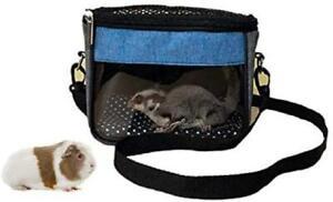 Guinea Pig Hamster Carrier Bag, Upgraded Small Pet Carrier Bag Super Soft Coral