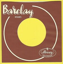 BARCLAY REPRODUCTION RECORD COMPANY SLEEVES - (pack of 10)