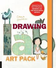 Drawing Lab Art Pack: A Fun, Creative Exercise Book & Sketchpad - Adapted...