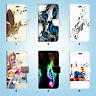 Music Melody Wallet Case Cover for iPhone XS MAX XR X 8 7 6 6S Plus SE 5S 016