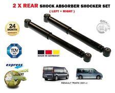 FOR RENAULT TRAFIC 2001--> NEW 2 x REAR SUSPENSTION SHOCK SHOCKER ABSORBER SET
