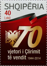 Albania Stamps 2014. Liberation of the country. Set MNH