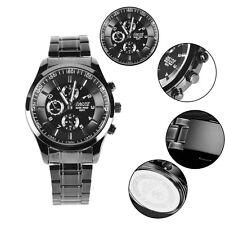 Ultra-slim Mens Boys Sports Military Wrist Watch Night version Underwater 50m